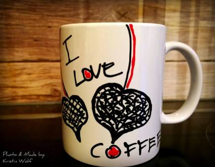 Coffee Keramiktasse