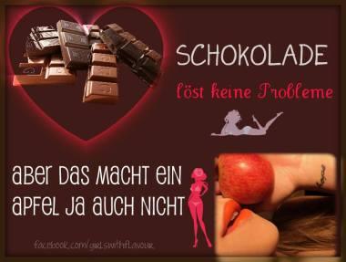 Schokolade lustig