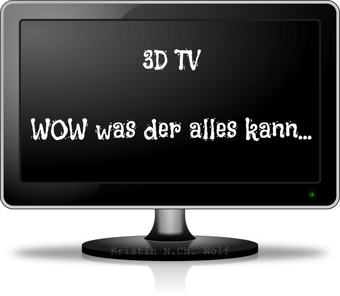 3D TV Vektor